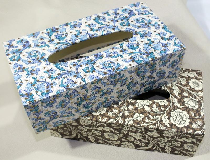 Taschentuch, oder Abschminktuch Stülpe für 100er Packungen