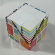 Zettel block für 9 x 9 cm Blöcke