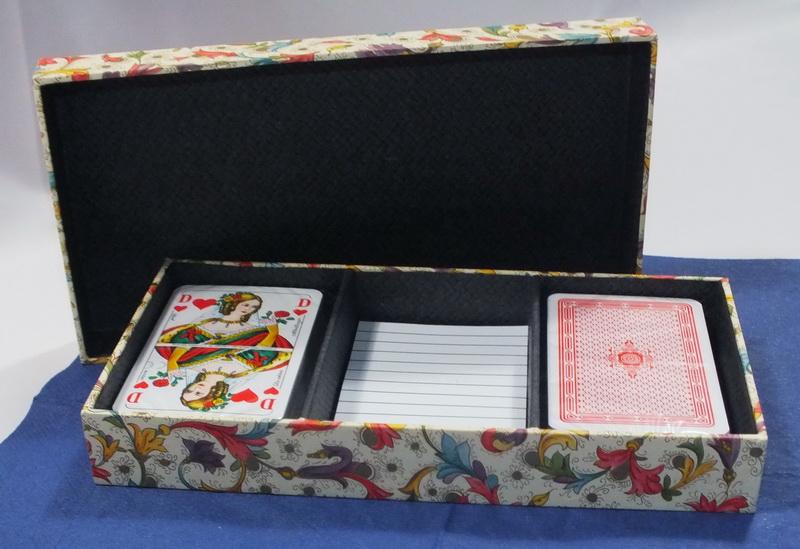 Spielkarten Box