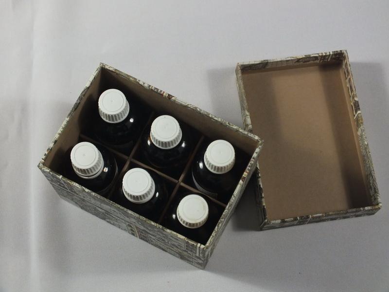 Passend für 6 Tinktur Flaschen a 50ml
