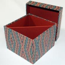 Stülpdeckel Box innen zweigeteilt