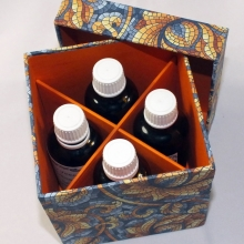 Passend für 4 Tinktur Flaschen a 50ml
