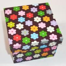 Stülpdeckel Box mit 10 x 10 x 8cm (h)